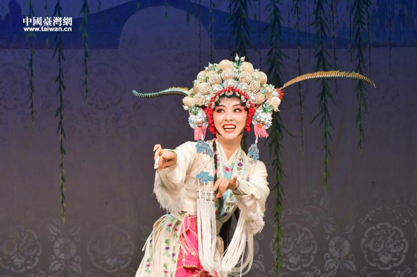 观、访、学、扮、唱 台湾传媒大学生全方位邂逅川剧