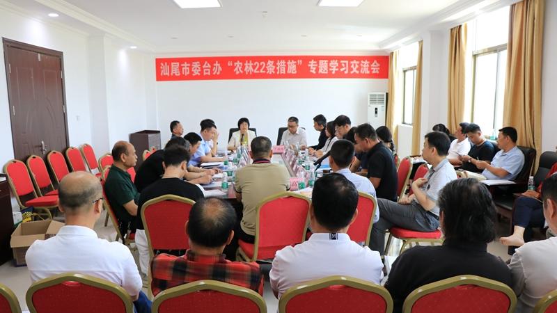 台湾青年联合会一行到汕尾考察 助力两岸乡村融合发展