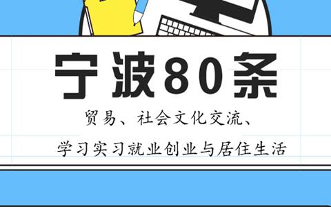 【图侃产经】一图看懂宁波80条(二)