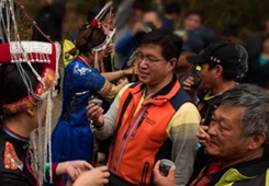 """丽水莲都举办""""三月三""""畲族歌会 以歌会友搭起两岸民族友谊桥"""