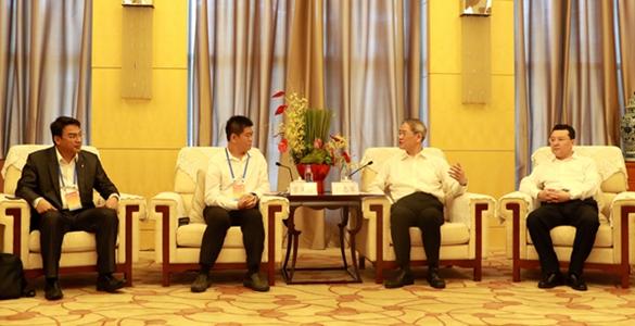 张志军会见参加第三届海峡两岸青年东湖论坛台湾青年代表