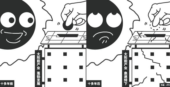 【漫画台湾】台湾太阳能产业成惨业
