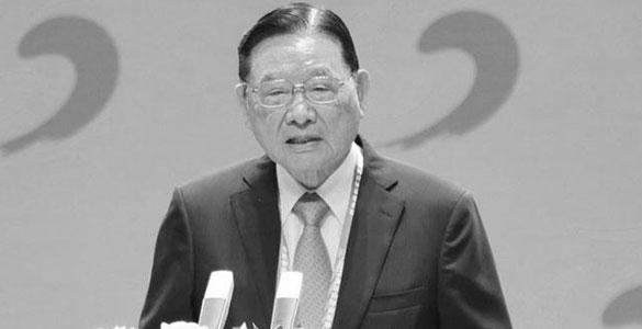 海基会前董事长江丙坤病逝 享年86岁