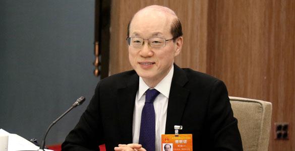 刘结一参加十三届全国人大二次会议台湾代表团审议