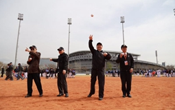 第二届海峡两岸学生棒球联赛开幕 20支高校棒球队齐聚北京