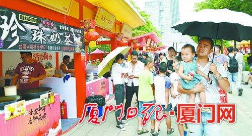 美食特色庙开锣:海沧21两岸模型台湾一站吃县市美食微图片