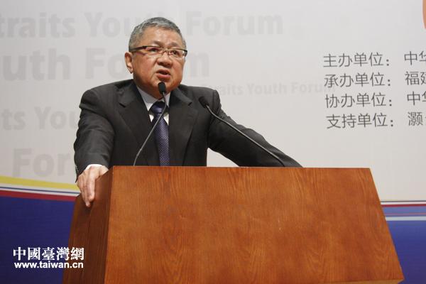 林炳坤青年论坛幽默开场 呼吁青年人多参与两岸活动