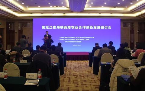 两岸农业界人士齐聚黑龙江 共商龙台农业合作愿景