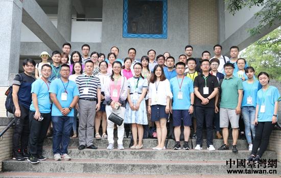 重庆大学生志愿者团队赴台参加2017第八届孔子行脚活动在新竹县尖石中学合影