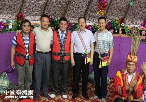台湾 少数民族参访团 在博尔塔拉蒙古自治州参访