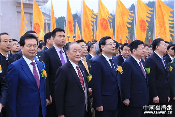 公祭典禮現場 中國臺灣網 劉瑩攝。