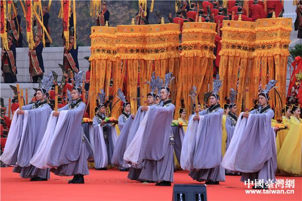 歌舞告祭 中國臺灣網 劉瑩攝。