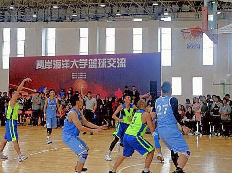 中国台湾网10月17日上海讯 2017年10月16日上午,在上海海洋大学体育馆