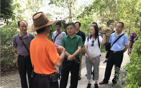 梅州市梅江区考察交流团赴台交流考察