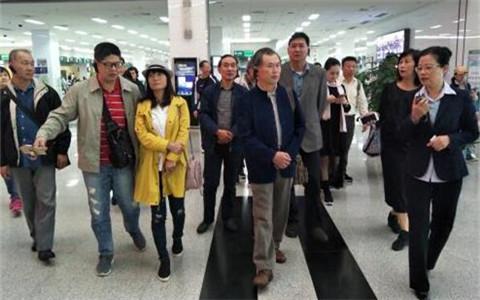 新北市退休警察人员协会交流团来江苏南通参访
