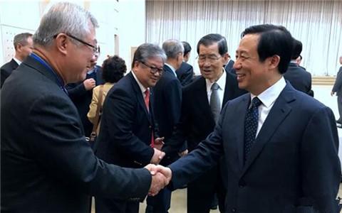 湖南省长许达哲会见参加第十三届湘台会的台湾嘉宾