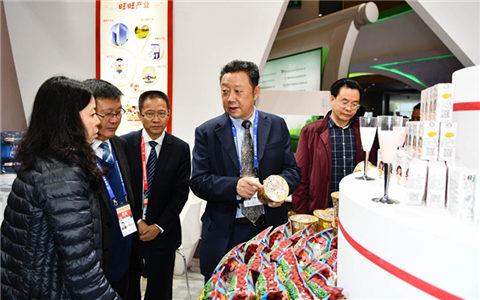 川台农业合作成果展在2017第五届四川农业博览会上获无数好评