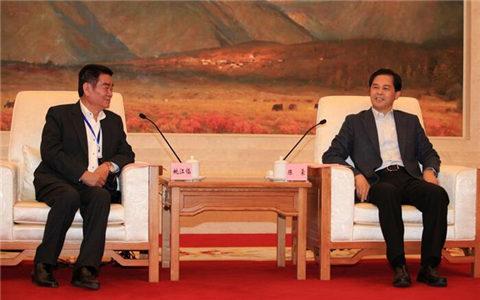陈豪会见中华两岸劳动关系发展协会理事长姚江临一行