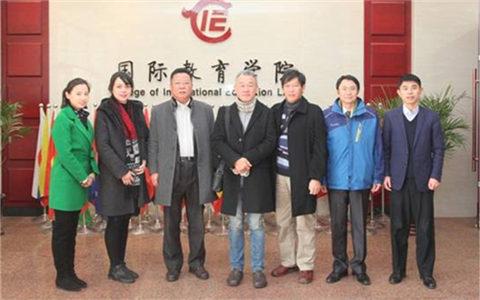台中科技大学代表团参访辽宁师范大学