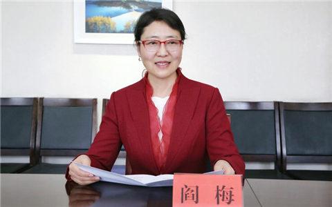 新疆台办主任阎梅
