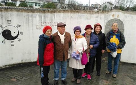 台湾芜湖经贸文教联谊会副会长刘世林返乡寻根交流