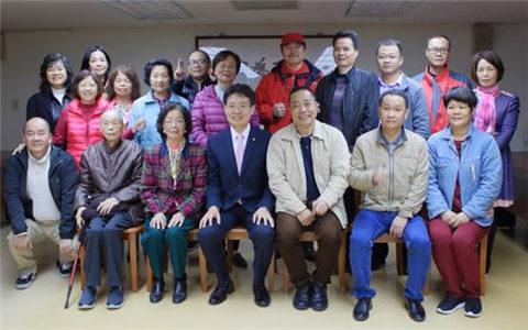 广东阳江市台办组团赴台开展民间社团交流