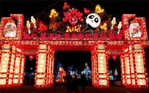四川庙会正月初二亮相台湾南投 展示非物质文化遗产