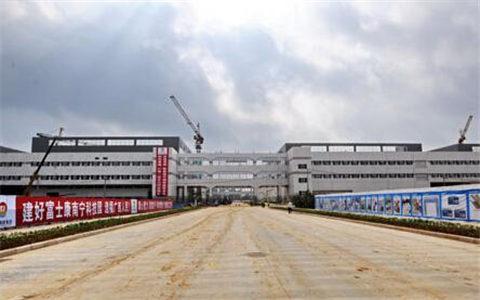 富士康南宁科技园2017年完成产值376亿元