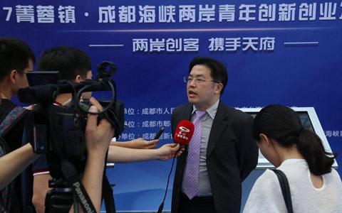 四川台商郭弘扬:欲借31条惠台政策推两岸影视合作