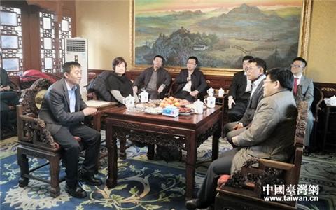 """台湾维格饼家董事长孙国华到访天津南开区 """"31条""""引台胞关注"""