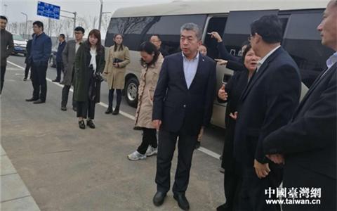 河南省台办主任赵宏宇调研台企友嘉公司在建项目