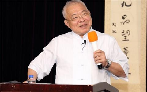 台湾名嘴朱高正教授在上海演讲文化自信