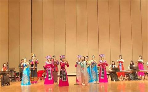丝韵风雅 云南曲靖天籁丝韵葫芦丝与台湾琴筝魅力相约