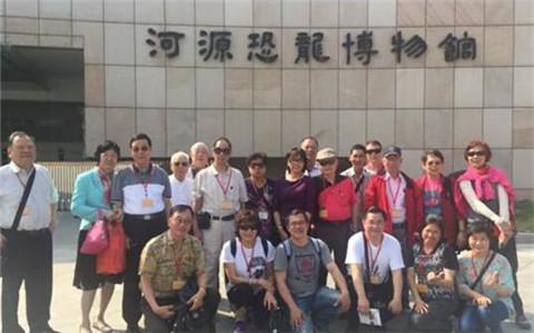 台北市惠州同乡会一行到广东河源参访 促进两地交流