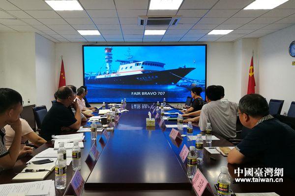 座谈会上观看华伟渔业集团宣传片  (摄影  曾琦).jpg