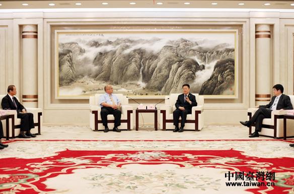 郑栅洁朱从玖会见台商台企代表:坚定扎根浙江和宁波的信心