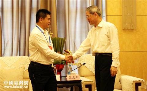 张志军会见参加第三届海峡两岸青年东湖论坛的台湾青年代表.jpg