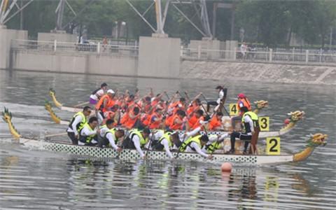 体育文化搭台龙舟竞技唱戏 海峡两岸共承体育精神