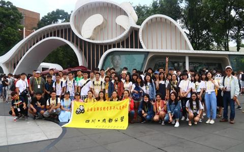 """""""我到四川看熊猫"""" 一场跨越海峡的青春聚会"""