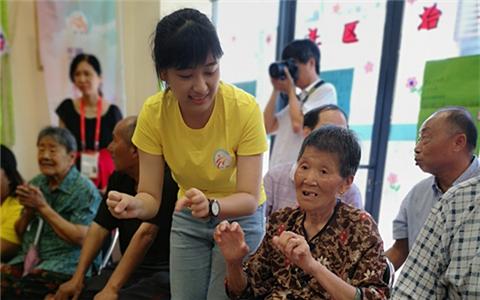 """台湾社工系学生走进福州开展实践 """"首来族""""占80%.jpg"""