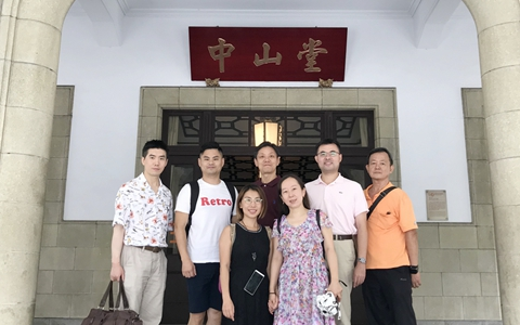 在沪青年定居台胞赴台寻访先辈历史足迹