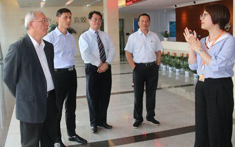 中国国民党前副主席蒋孝严办公室主任詹清池一行来抚参访交流