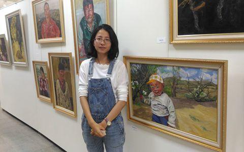 她把陕北黄土文化带进台湾校园