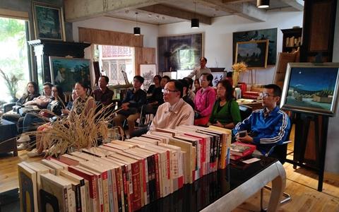 在沪青年台胞读书会 学习台湾农民运动史