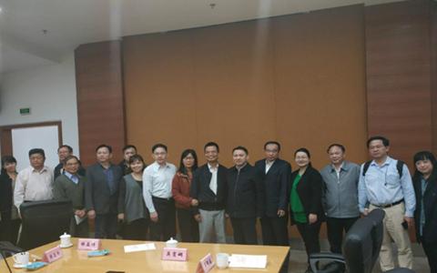 台湾中华青年企业家协会来合肥市参访
