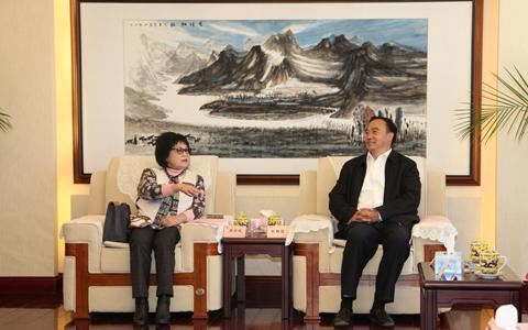 云南省台办主任张朝德会见海峡两岸劳工发展交流协会交流团