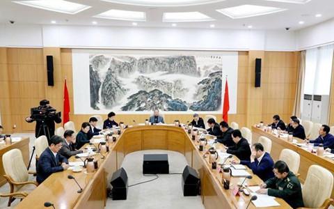 山东省委对台工作领导小组召开第一次全体会议