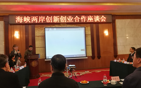 海峡两岸创新创业合作座谈会在哈尔滨召开