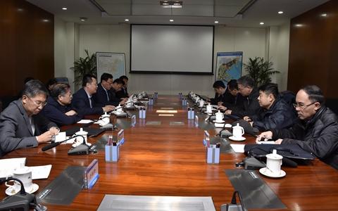 天津市台办主任刘剑英一行到滨海新区调研