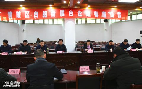 武汉黄陂区台胞、台属和台企代表人士喜迎新春、共话统一大业